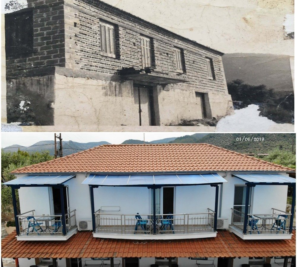 difference buildings plaka 2019 vs 1966